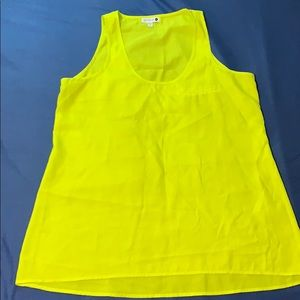Tank top shirt sleeve blouse